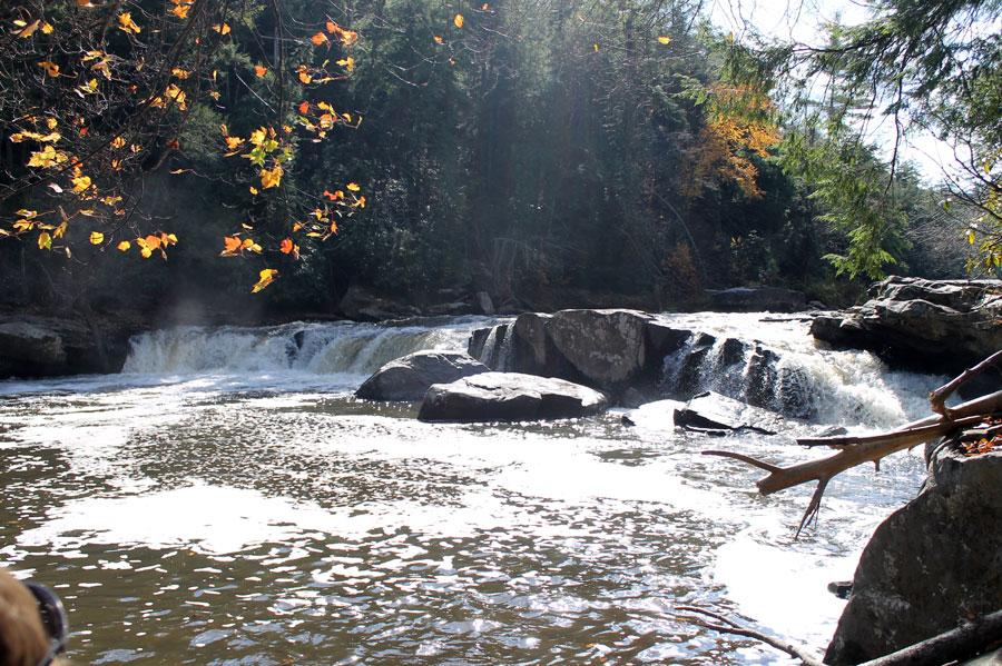 Lower Swallow Creek Falls, MD.