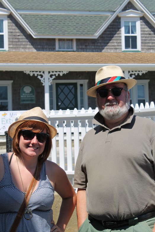 My dad and I in Rhode Island.